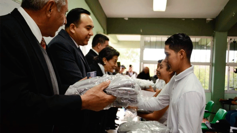 Refuerza Gobierno Estatal modelo educativo del Bachillerato General Policial