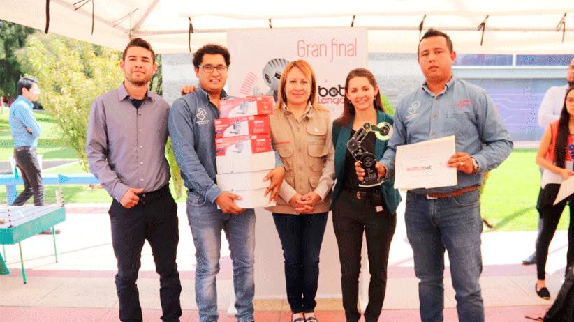 Ganan concurso de robótica Bot Challenge estudiantes de la UTZAC y CBTIS23