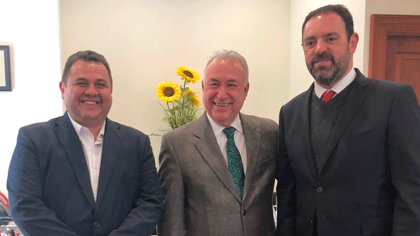 Gestiona Gobernador Tello más recursos para la UAZ