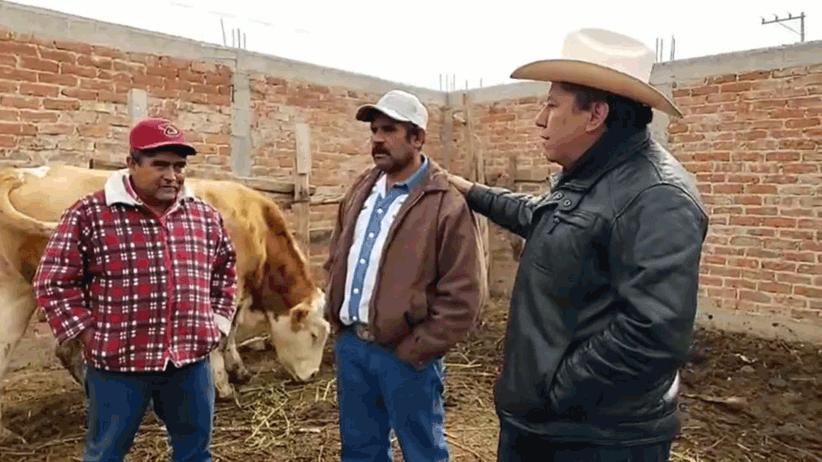 Crédito Ganadero a la Palabra genera mayores condiciones de bienestar para los pequeños ganaderos y sus familias: David Monreal Ávila