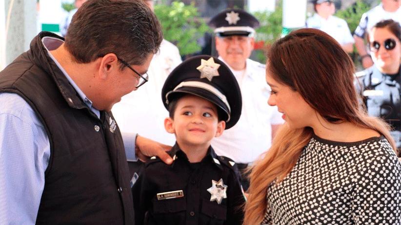"""Participa Alcalde Saúl Monreal en el evento """"Policía por un Día"""""""
