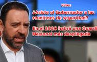 Video: ¿Asiste el Gobernador a las reuniones de seguridad?
