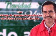 Video: Entrega de Apoyos Invernales en los municipios y sus pormenores