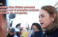 Video: Verónica Díaz Robles presenta denuncia por la presunta comisión del delito de corrupción
