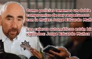 Video: Como policías tenemos un doble compromiso de ser respetuosos con la mujer: Jorge Eduardo Muñoz Franco
