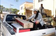 Entregan apoyos para vivienda en Susticacán