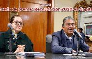 Rueda de Prensa: Recaudación 2020 en Capital