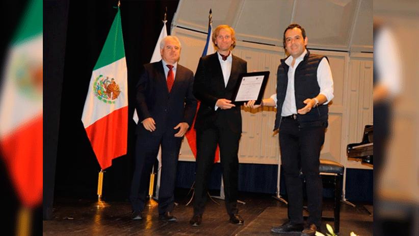 Demuestra Ulises Mejía Haro capacidad de gestión ante la comunidad internacional