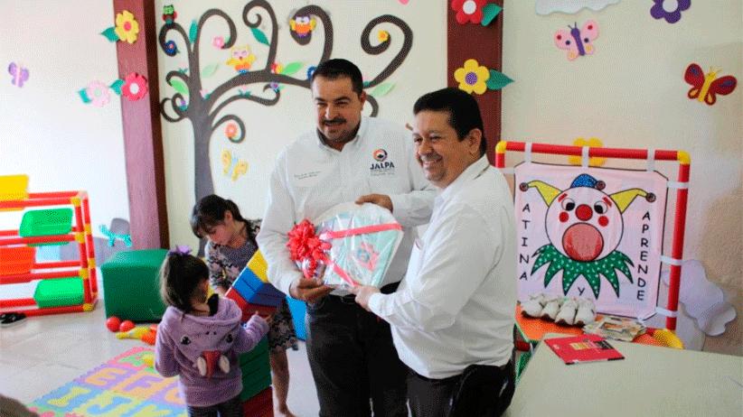 Biblioteca de Jalpa ya cuenta con ludoteca