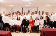 Clausura Domínguez Campos el curso de Capacitación y Certificación de Consejería en Adicciones