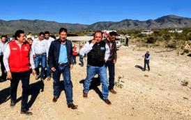 Continúan avances  en captación de agua para Mazapil
