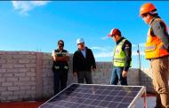 Con paneles solares seguimos garantizando servicios de calidad en la capital: Ulises Mejía Haro