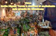 Invita Miguel Torres a conocer el nacimiento más grande de Zacatecas