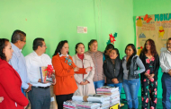 Reciben cuatro bibliotecas de Río Grande 1 mil 280 libros