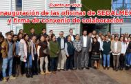 Evento en vivo: Inauguración de las oficinas se SEGALMEX y firma de convenio de colaboración