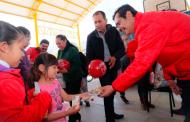 Lleva Gobierno de Zacatecas apoyos invernales al Semidesierto