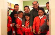 Inauguran segunda sala de lectura digital en Sombrerete