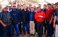 Reconoce Ulises Mejía Haro al equipo de recolección de basura por dignificar la Capital