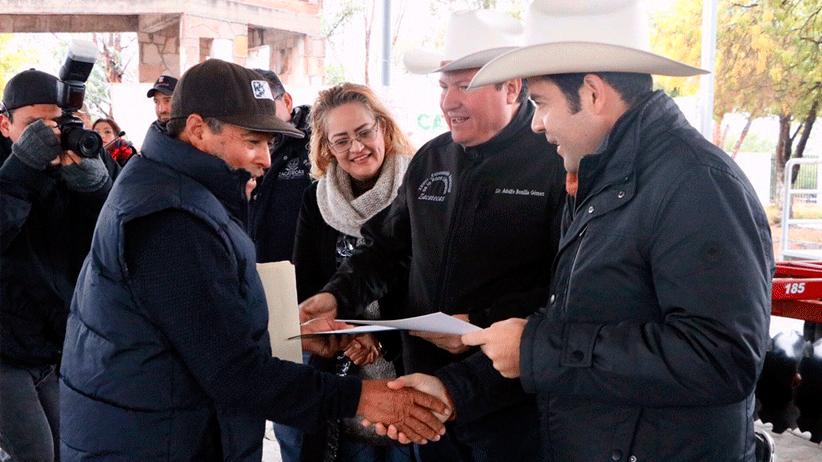 """""""Ni el frío detiene el trabajo en la Capital"""": Ulises Mejía Haro"""