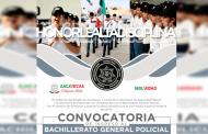 Convoca Gobierno Estatal a formar parte de la segunda generación del Bachillerato General Policial