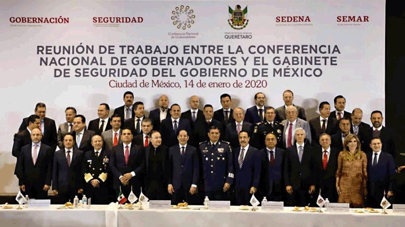 Acuerda la Conago trabajar en unidad con el Gobierno de México en materia de seguridad