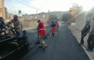 Secretaría de Obras Públicas rehabilita calles de Guadalupe y Zacatecas
