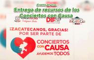 Evento en vivo: Entrega de recursos de los Conciertos con Causa