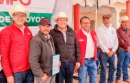 Continúa Gobernador Alejandro Tello gestiones para apoyar al campo