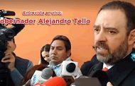 Entrevista en vivo: Gobernador Alejandro Tello