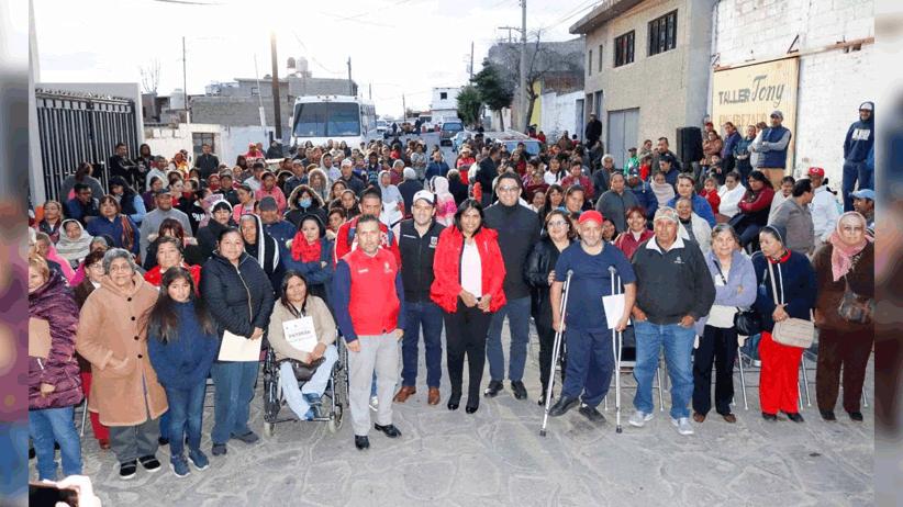Mejoran acciones gubernamentales calidad de vida de cerca de 3 mil habitantes de la capital zacatecana
