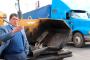 Saúl Monreal da arranque a la obra de reencarpetamiento en el Boulevard Jesús Varela Rico