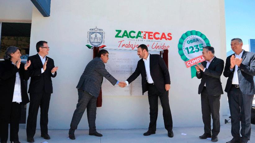 Entrega Gobernador Tello nuevo edificio para Tecnológico Superior de Fresnillo