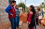 Supervisa Julio César Chávez  Ampliación de red de drenaje en El Bordo
