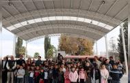 Entregan domo escolar del Programa 2x1 Trabajando Unidos con los Migrantes