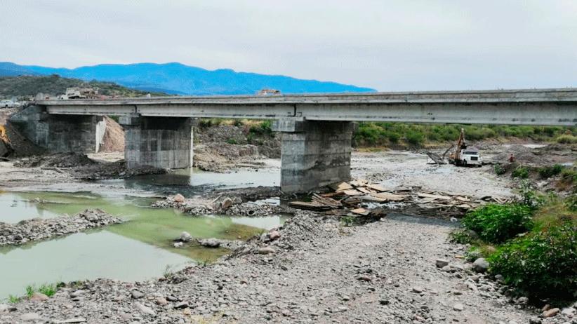 Por concluir puente La Quinta; permitirá traslados más seguros en el cruce del río Juchipila