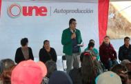 Con la estrategia UNE, beneficia SEDESOL a familias de seis Municipios