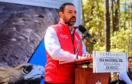 Trabaja Alejandro Tello en la preservación del Águila Real en México