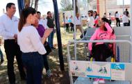 Inaugura Presidenta de SEDIF el primero de 10 Parques Infantiles incluyentes