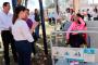 Inaugura Alejandro Tello escuela y puente la quinta en Juchipila