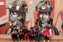Como parte de las actividades de Prevención del delito, pintan 19 murales en Fresnillo
