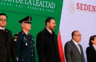 Reconocen los tres poderes del estado gesta de Lealtad del Ejército Mexicano