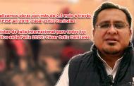 Video: Realizamos obras por más de 2.5 mdp a través del FISE en 2019: César Ortiz Canizales