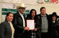 Entrega Gobierno de Tello 20 mdp para el campo de Sombrerete