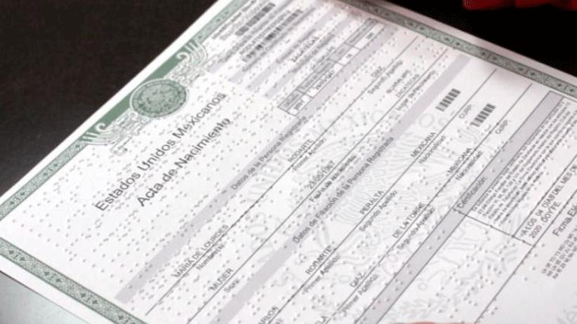 Zacatecas ya cuenta con actas de nacimiento en Sistema Braille