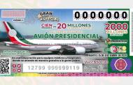 Datos interesantes sobre el Sorteo del Avión Presidencial