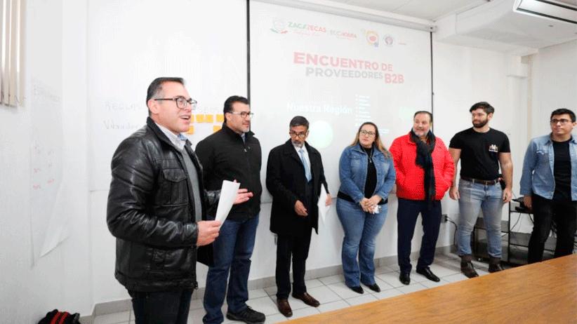 Gobierno del Estado acerca a más de 150 proveedores locales a la Compañía Cervecera de Zacatecas