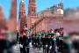 Con temática de la paz,Desfile del día de la Bandera