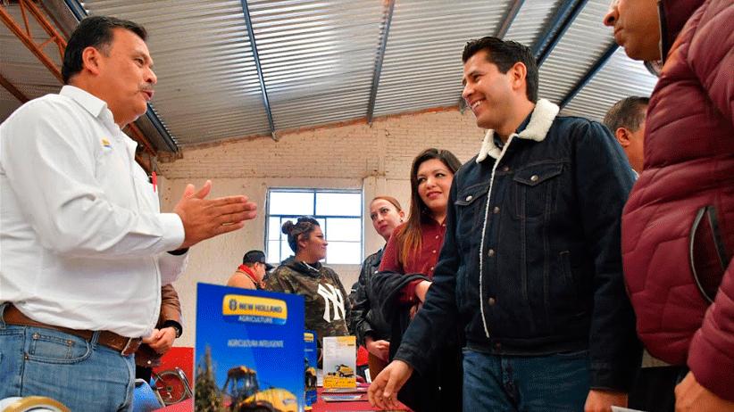 Exitosa Primera Feria del Crédito Agrícola en Guadalupe