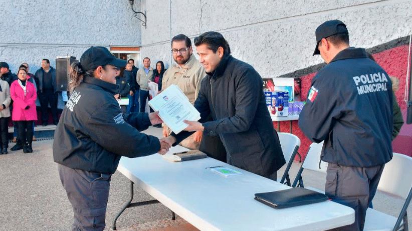 Somos la policía más profesionalizada del estado:  Julio César Chávez Padilla