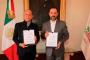 Firma Alejandro Tello acuerdo  de coordinación con el INSAB para brindar servicios de salud gratuitos